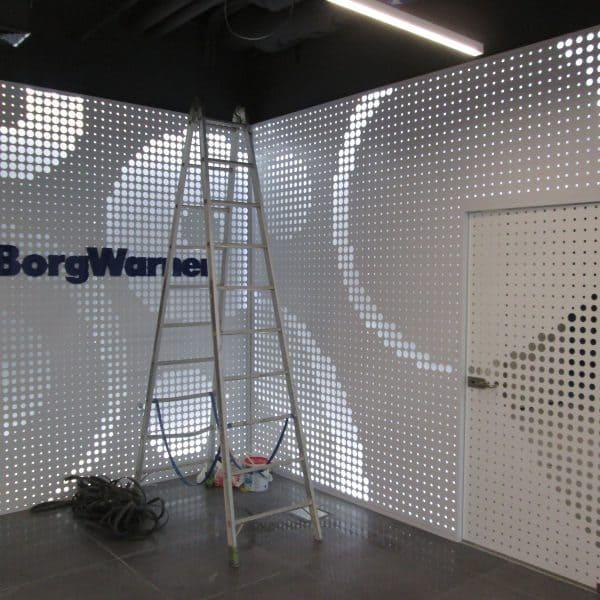 Aranżacja przestrzeni biurowej Borg Warner Rzeszów