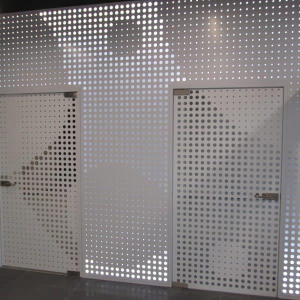 Perforowana ściana Borg Warner
