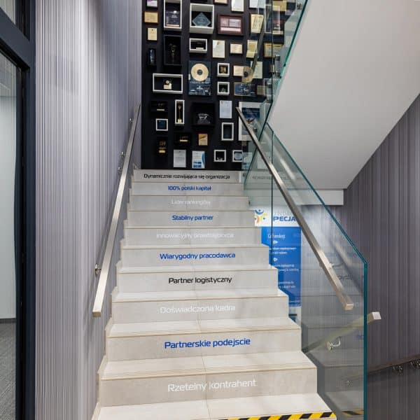 Aranżacja klatki schodowej Specjał