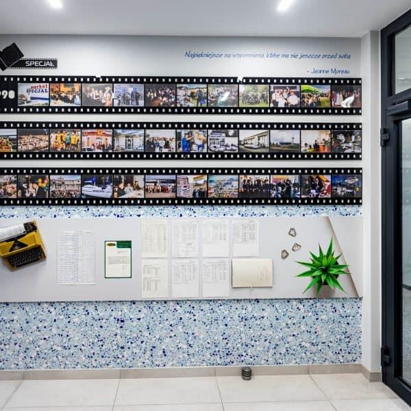 Aranżacja korytarza firmy Specjał
