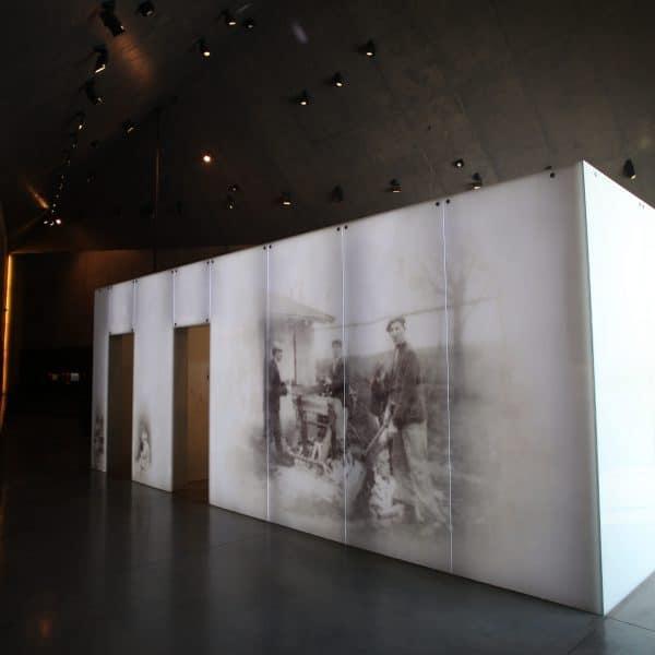 Realizacja projektu wnętrz Muzeum w Markowej 11