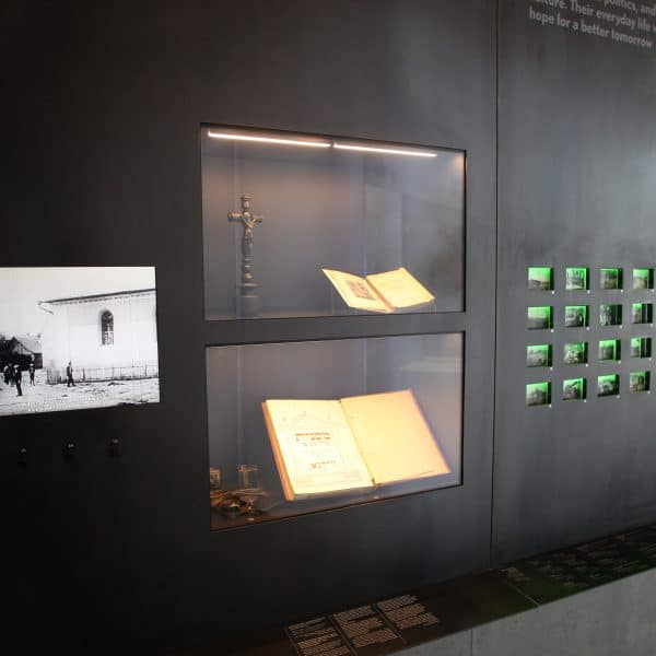 Realizacja projektu wnętrz Muzeum w Markowej 6